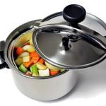 Aroma, Vitamine und Nährstoffe in Schnellkochtöpfen schonen