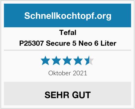 Tefal P25307 Secure 5 Neo 6 Liter Test