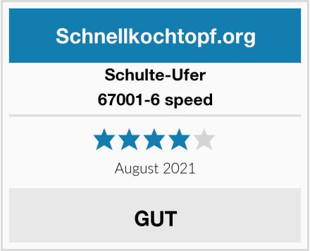 Schulte-Ufer 67001-6 speed Test