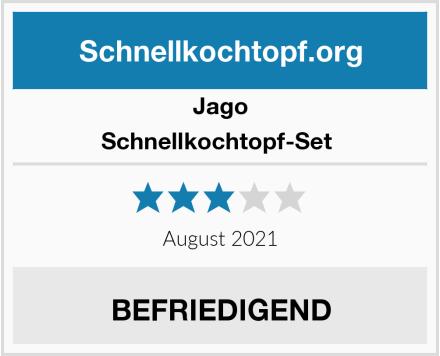 Jago Schnellkochtopf-Set  Test