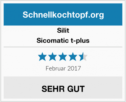 Silit Sicomatic t-plus Test