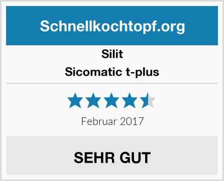 Silit Sicomatic t-plus Test