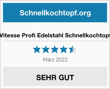 Pinti Profi Edelstahl Schnellkochtopf 9 ltr.  Test