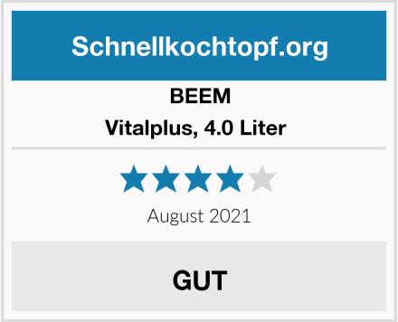BEEM Vitalplus, 4.0 Liter  Test