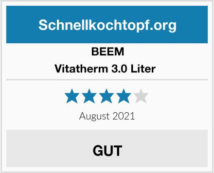 BEEM Vitatherm 3.0 Liter  Test
