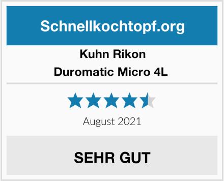 KUHN RIKON Duromatic Micro 4L  Test