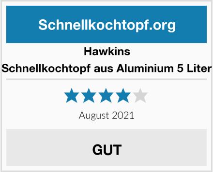 Hawkins Schnellkochtopf aus Aluminium 5 Liter Test