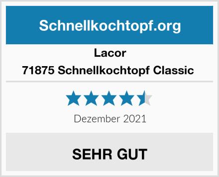 Lacor 71875 Schnellkochtopf Classic  Test