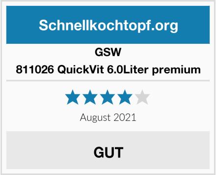 GSW 811026 QuickVit 6.0Liter premium Test