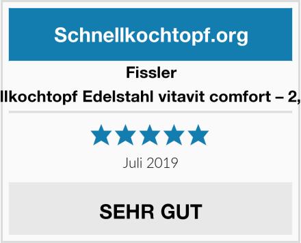 Fissler Schnellkochtopf Edelstahl vitavit comfort – 2,5 Liter Test