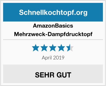 AmazonBasics Mehrzweck-Dampfdrucktopf Test
