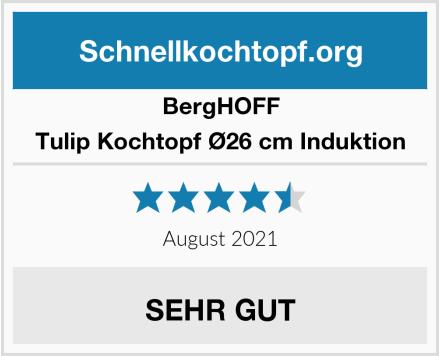 BergHOFF Tulip Kochtopf Ø26 cm Induktion Test