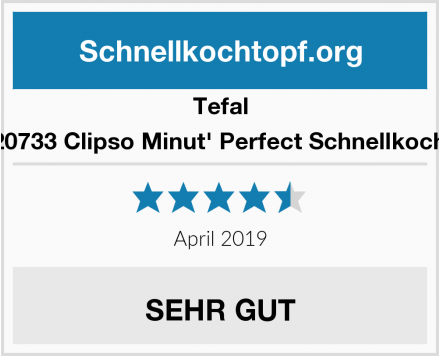 Tefal P4620733 Clipso Minut' Perfect Schnellkochtopf Test