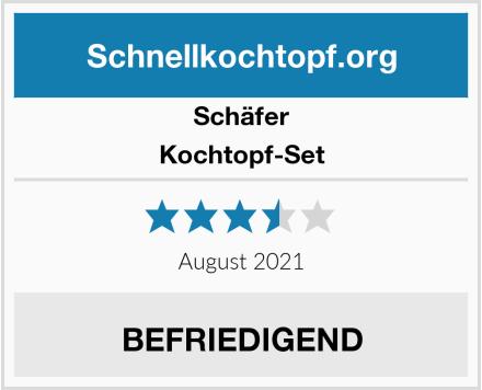 Schäfer Kochtopf-Set Test