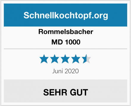 Rommelsbacher MD 1000 Test