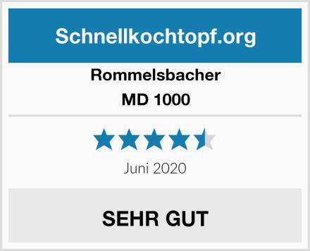 Rommelsbacher MD 1000 Test