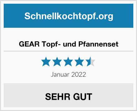 GEAR Topf- und Pfannenset Test