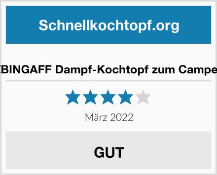 ZBINGAFF Dampf-Kochtopf zum Campen Test