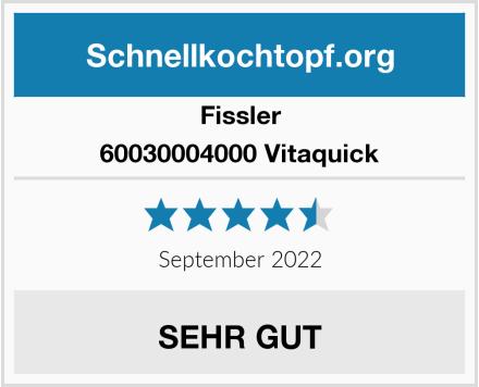 Fissler 60030004000 Vitaquick Test