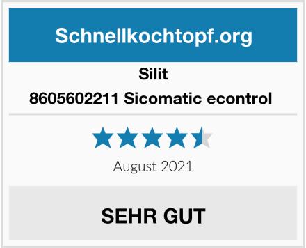 Silit 8605602211 Sicomatic econtrol  Test