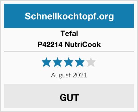 Tefal P42214 NutriCook Test
