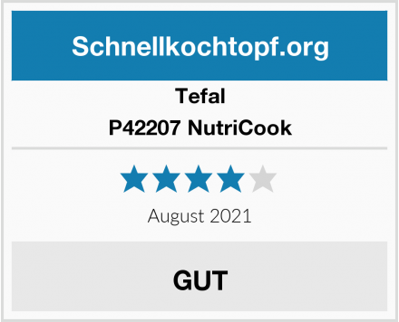 Tefal P42207 NutriCook Test