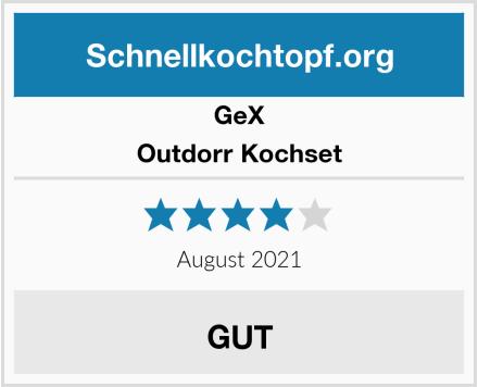 GeX Outdorr Kochset Test