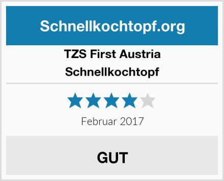 TZS First Austria Schnellkochtopf Test