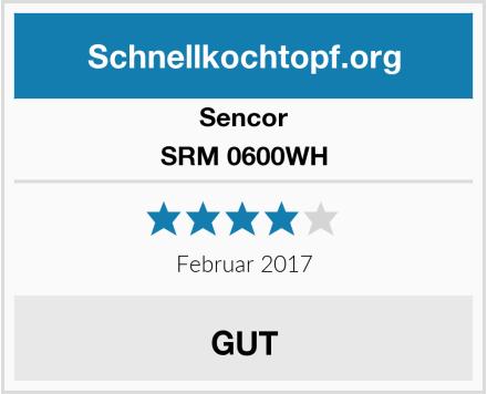 Sencor SRM 0600WH Test